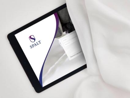 Tablett App und Corporate Design - Spalt Trauerwaren