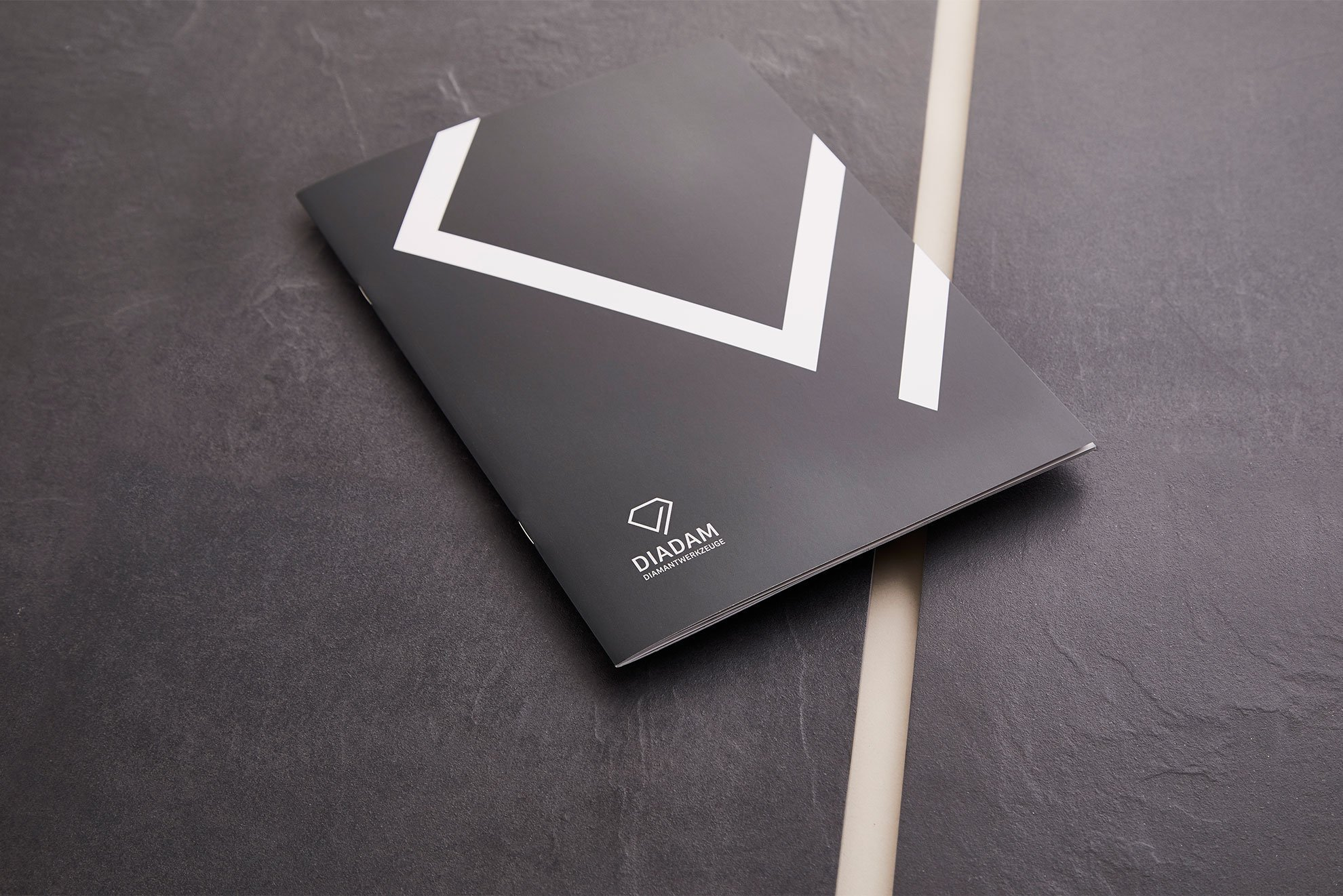 Imageboschüre - Diadam Corporate Design und Webdesign