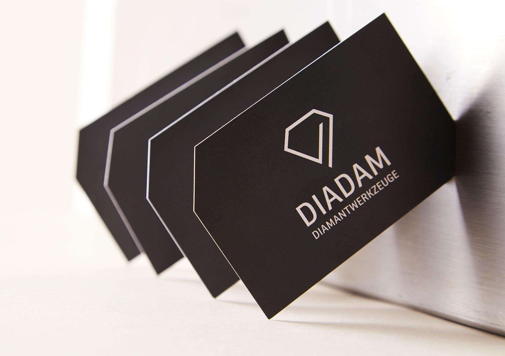 Visitenkarten - Diadam Corporate Design und Webdesign