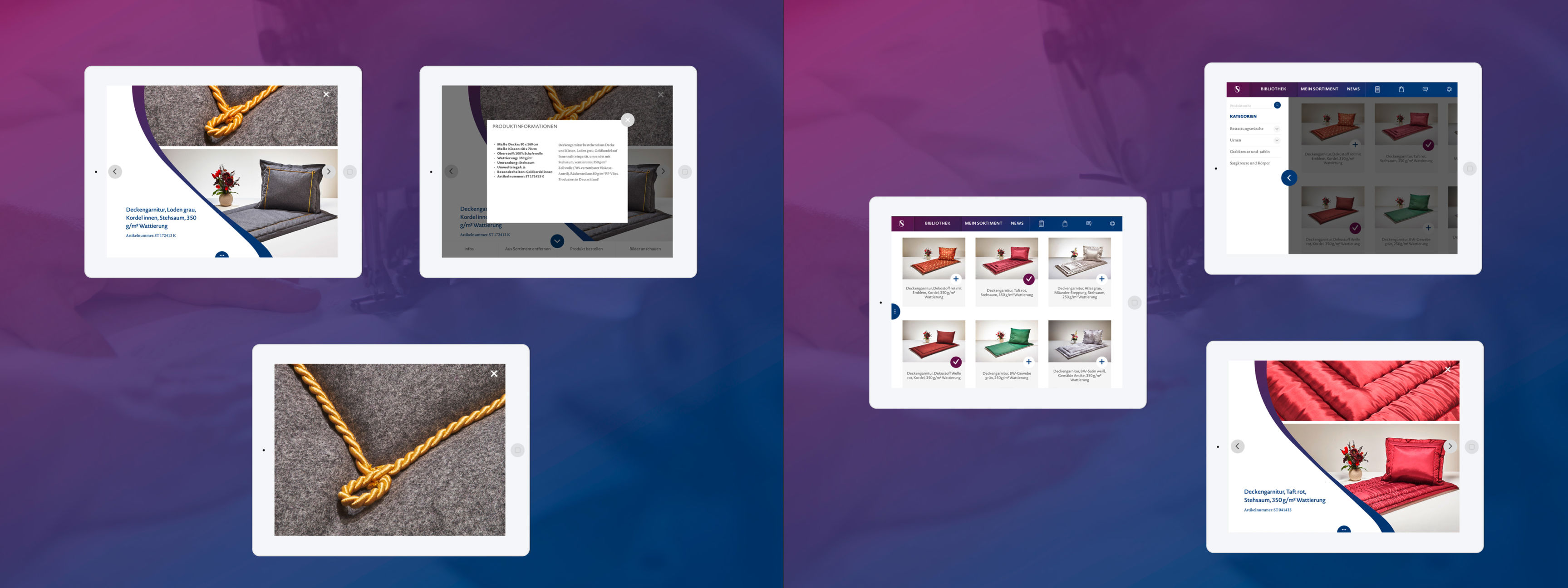 UI-Design App - Spalt Corporate Design