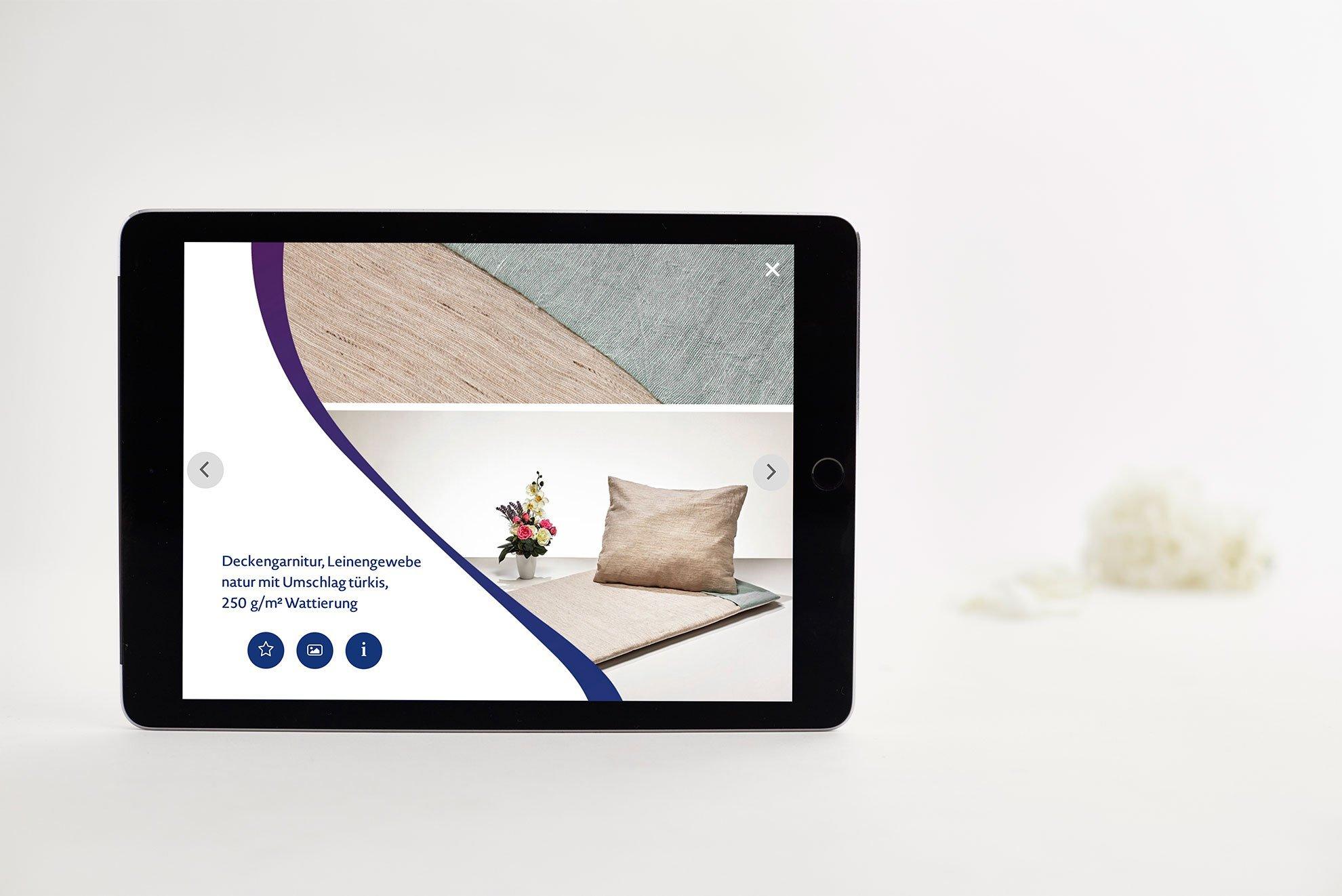 iPad App - Spalt Corporate Design
