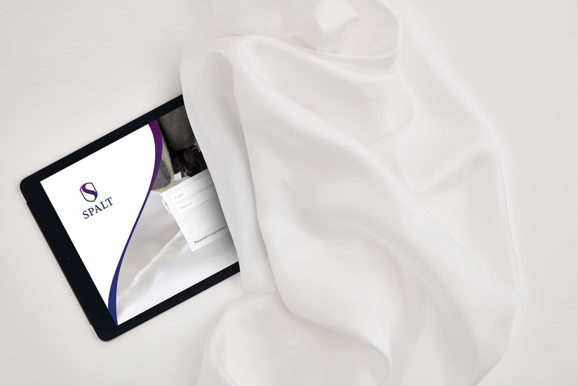 App Design - Spalt Corporate Design