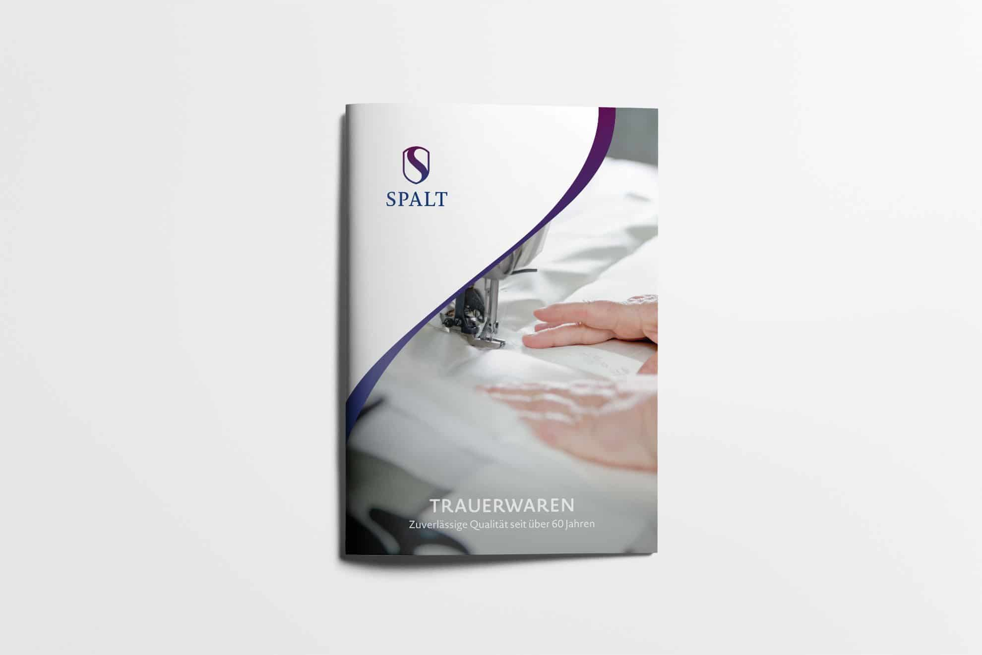 Cover Imagebroschüre - Spalt Corporate Design
