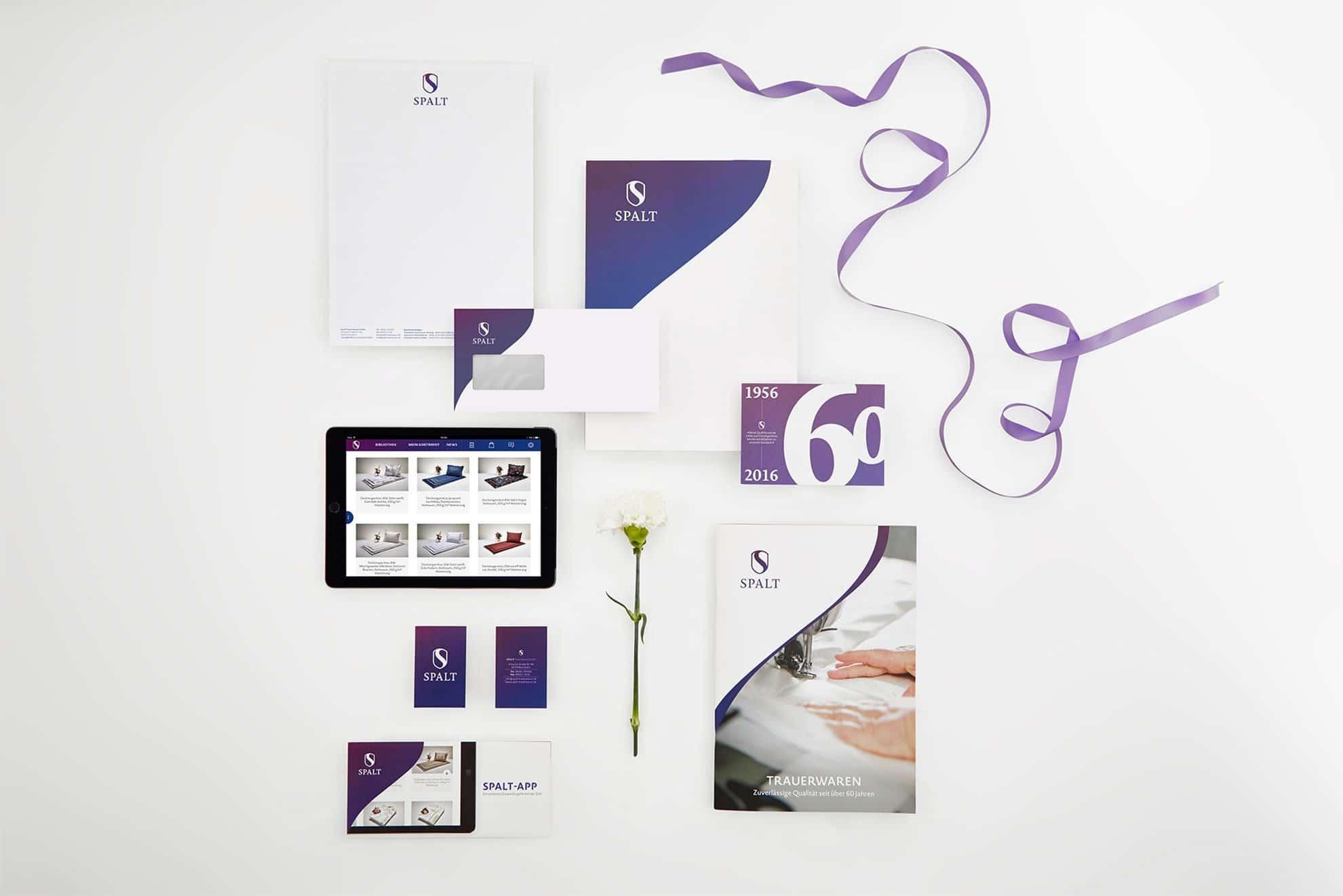 Übersicht Medien - Spalt Corporate Design