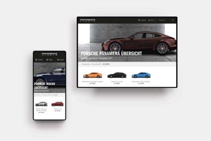 Auswahl Autos - CW Performance E-Commerce Plentymarkets