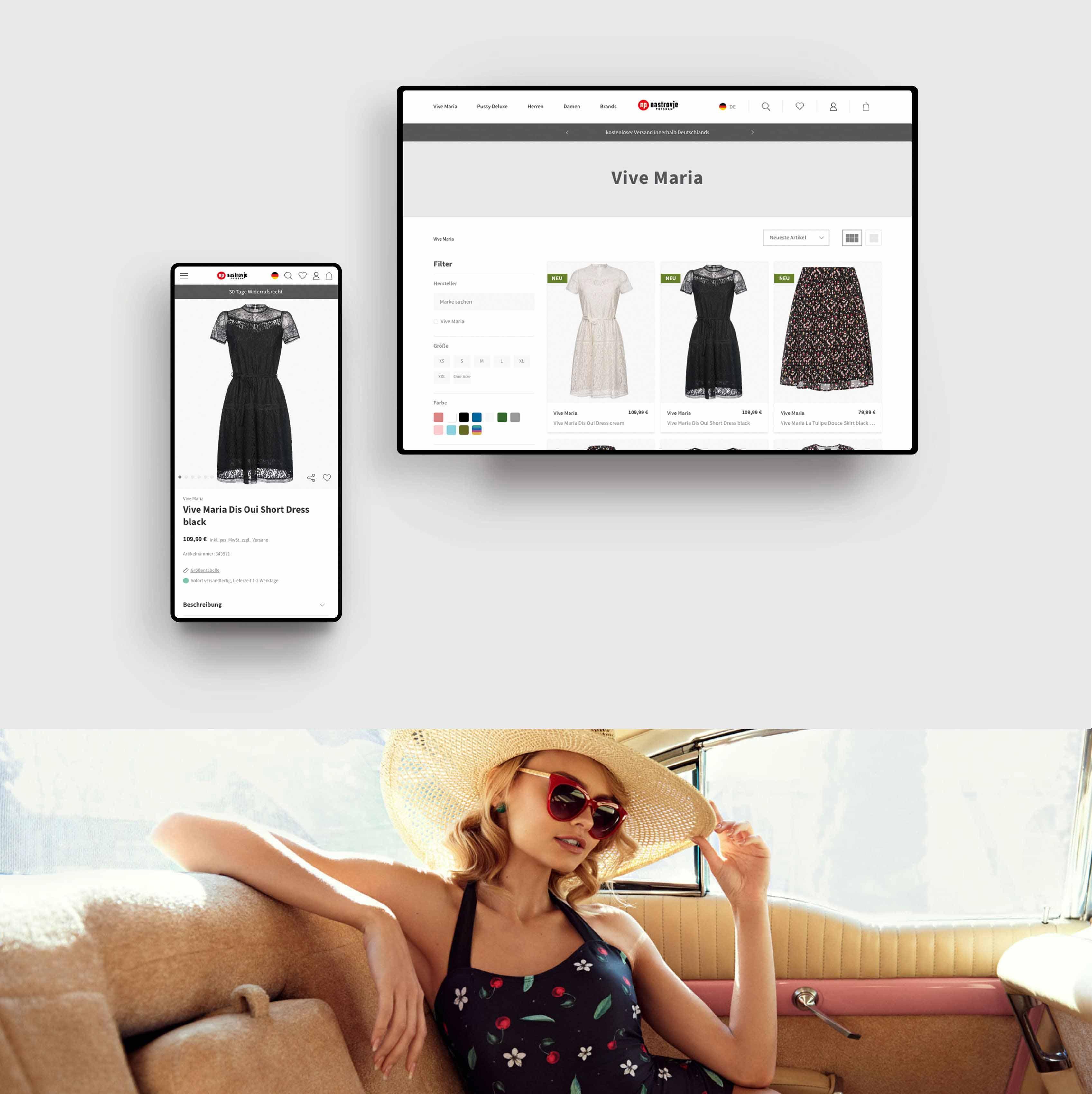 Produktübersicht - Nastrovje Potsdam E-Commerce Plentymarkets