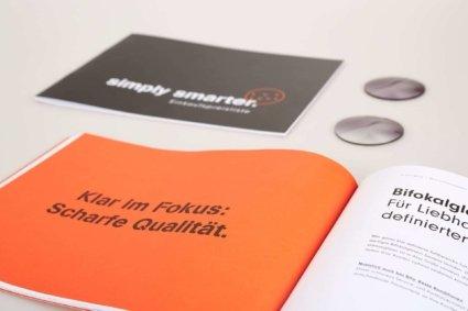 Typografie - Lux Lens Corporate Design