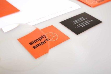Visitenkarte - Lux Lens Corporate Design