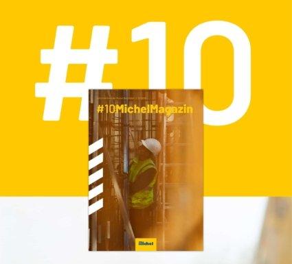 Michel Bau Cover Magazindesign