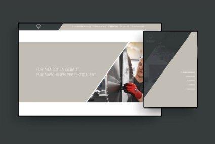 Webdesign für Diadam