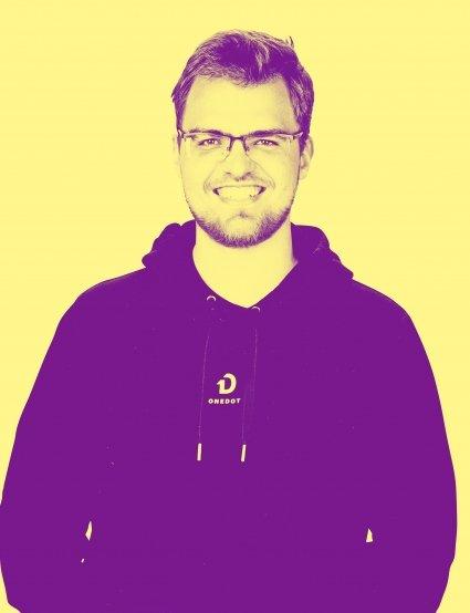 ONEDOT Mitarbeiter Florian Hartwig