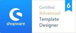 Zertifizierung Shopware Template Designer